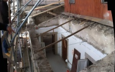 22 September 2014 - Walls top and cornice