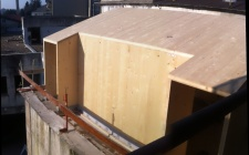 January 2015 - Expansion with cross laminated timber panels CLT
