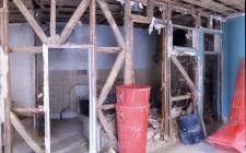 obra interior - cruzes Santo André